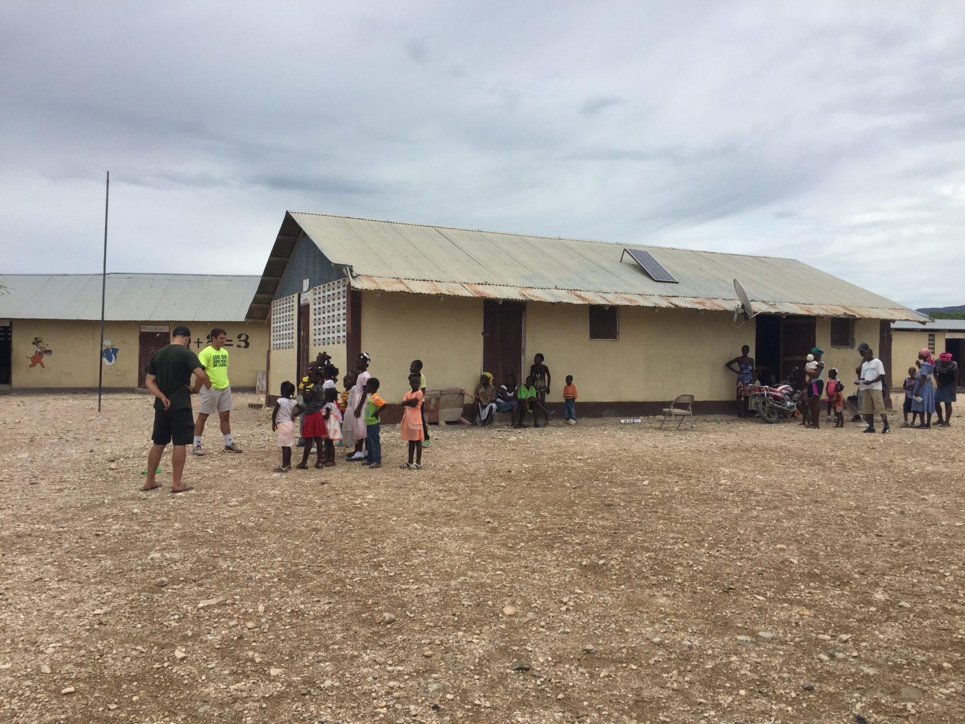 School in northern Haiti